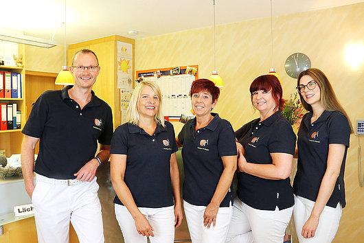 Team der Praxis Dr. Pfersich in Erlangen Dechsendorf